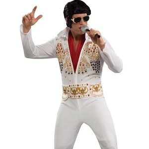 Rubies Men's Elvis Adult Costume  Sz L Large